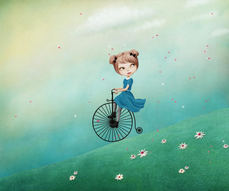 Ela şi Bicicleta O Poveste Magică
